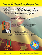 2017 Houston Grenada Association Gala