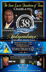 2017 Saint Lucia Foundation of Texas Independence Gala