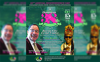 Dominica Houston Association Celeberates Dominica's 38th Anniversary of Independence